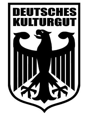 Deutscher Adler Auto Aufkleber Deutschland Heckscheibe