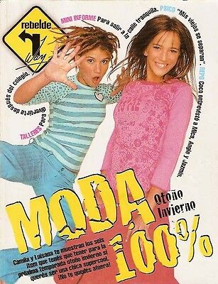 Luisana Lopilato Sexy Model Erreway Magazine 2004