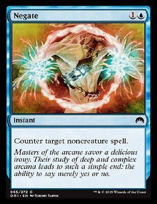4x MTG: Negate - Blue Common - Origins - ORI - Magic Card