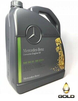 5W 30 Original Mercedes Benz Motoröl Original Mercedesöl 5 Liter MB 229.51