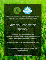 FREE Community Lawn Aeration : May 6th - Williamsburg/Dinison