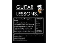 MANCHESTER GUITAR LESSONS - FIRST LESSON 100% FREE