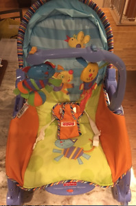 NEW PRICE!! FISHER PRICE INFANT-TO-TODDLER PORTABLE ROCKER!!