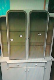 Danks white wall unit #32018 £100