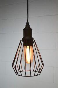 Luminaire suspendu - style industriel