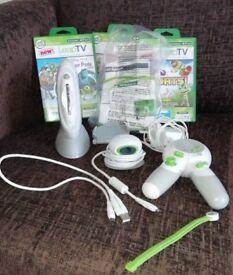 Leap tv console + games