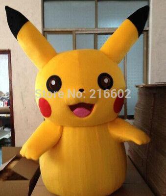 Maskottchen Kostüm für Erwachsene Pokemon Pikachu Picachu Größen Verfügbar - Alle Pokemon Kostüm