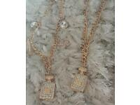 Chunky chain necklaces