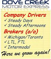 Hiring Company AZ Drivers and Brokers!