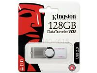Kingston 128gb data traveller 101 usb2.0 usb memory stick for sale very cheap price.....