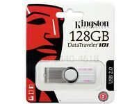 Kingston 128gb data traveller 101 usb2.0 usb memory stick for sale very cheap price....