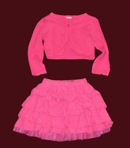 Baby girl top and skirt, 18-24 months.