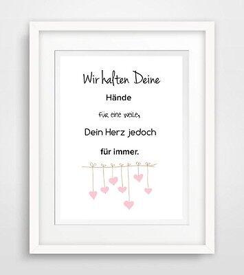 Babyzimmer -  zimmer Druck Bild poster deko spruch leben motivation wohnung