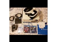Playstation PS VR + 2 games like new