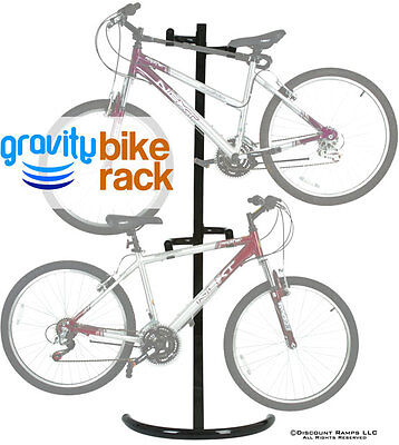 EVERHOLD FREESTANDING BICYCLE STORAGE RACK-2 BIKE HANGER STAND (Bike-Stand-1) on Rummage