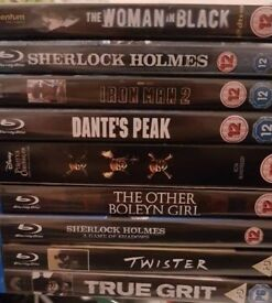 Various Blue Ray DVDs for Sale.