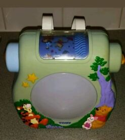 Vintage Tomy Baby Vision Dream Show Lullaby Night Light Projector
