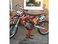 Ktm 250f 2011 mint condition may px quad