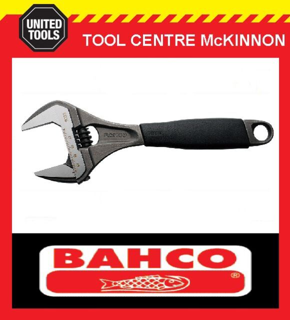 """BAHCO ERGO 9033 270mm – 10"""" EXTRA WIDE OPENING ADJUSTABLE WRENCH SHIFTER"""