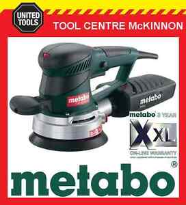 metabo sxe 450 turbotec 350w 6 150mm twin action random orbital sander ebay. Black Bedroom Furniture Sets. Home Design Ideas