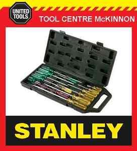 stanley 14pce screwdriver set in carry case australia s best seller ebay. Black Bedroom Furniture Sets. Home Design Ideas