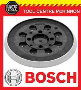 BOSCH PEX 300 AE, PEX 400 AE SANDER REPLACEMENT 125mm BASE / PAD - NEW STYLE