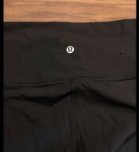 Lululemon Wunder Under High-Rise Black Tight (Leggings) Size 8
