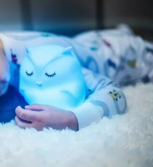 Lumipets LED Silicone Kids Night Lite Toy With Remote OWL