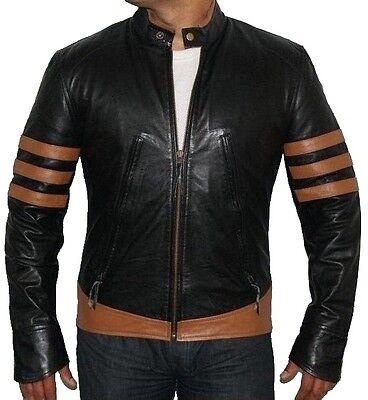 Leder Next Wolverine X-Men Origins Hugh Jackman Lederjacke auf Lager