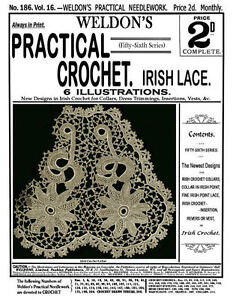 Weldons-2D-186-c-1900-Practical-Crochet-Irish-Lace