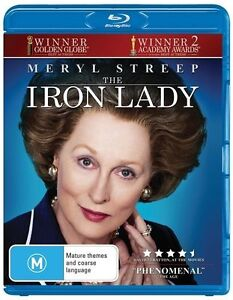 The Iron Lady NEW B Region Blu Ray
