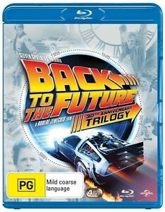 BACK TO THE FUTURE Trilogy 1 2 3 : NEW Blu-Ray