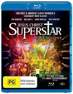 Jesus Christ Superstar - Live Arena Tour Blu-ray 2013  New & Sealed Tim Minchin