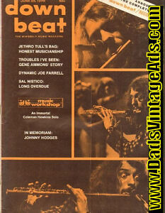 Back Issues of 50s, 60s, & 70s DOWNBEAT