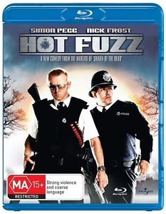 Hot Fuzz Blu-ray Discs NEW