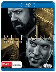 Billions: Season 1 - Brian Koppelman NEW B Region Blu Ray