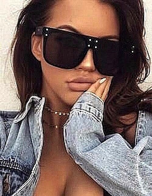 "XXL OVERSIZED ""over the hills "" Women Sunglasses Aviator Fla"