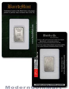 Baird-Mint-UK-1-10-Oz-999-Rhodium-Bar-Sealed-With-Assay-Certificate-SKU31214