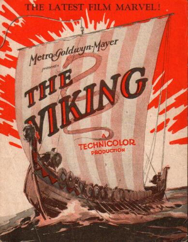 Viking  Original Movie Herald from the 1931 Movie