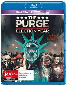 The Purge - Election Year (Blu-ray, 2016) NEW