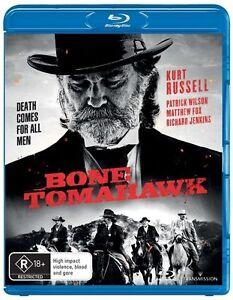 Bone Tomahawk : NEW Blu-Ray