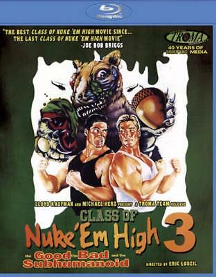 CLASS OF NUKE 'EM HIGH 3: THE GOOD, THE BAD AND THE SUBHUMANOID NEW