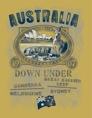 Ayers Rock (GR M T Shirt Old Style Australia Australien Outback 1907 Ayers Rock Sydney)
