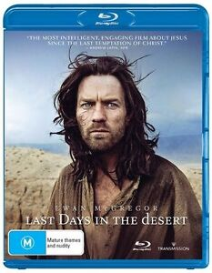 Last Days In The Desert (Blu-ray, 2017)