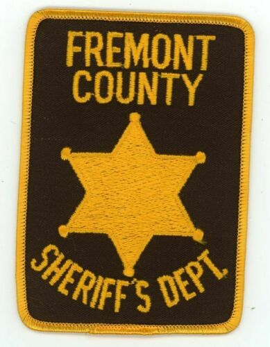 COLORADO CO FREMONT COUNTY SHERIFF NEW PATCH POLICE