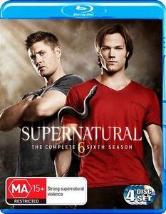 Supernatural : Season 6 (Blu-ray, 2011, 4-Disc Set)