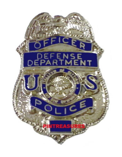 Department of Defense Pins Police Officer Mini Badge DOD Pin Lapel Hat Collector