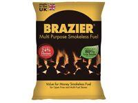 Brazier 10kg Bags (x 30) Bargain