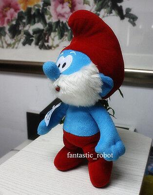 "The Smurfs II Character Papa Smurf Plush Soft Doll Stuffed 13"" Figure Good X'mas"