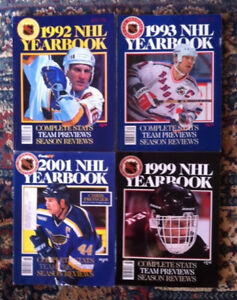 NHL hockey yearbooks lot